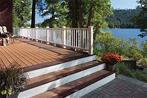 Trex Decking and Porch
